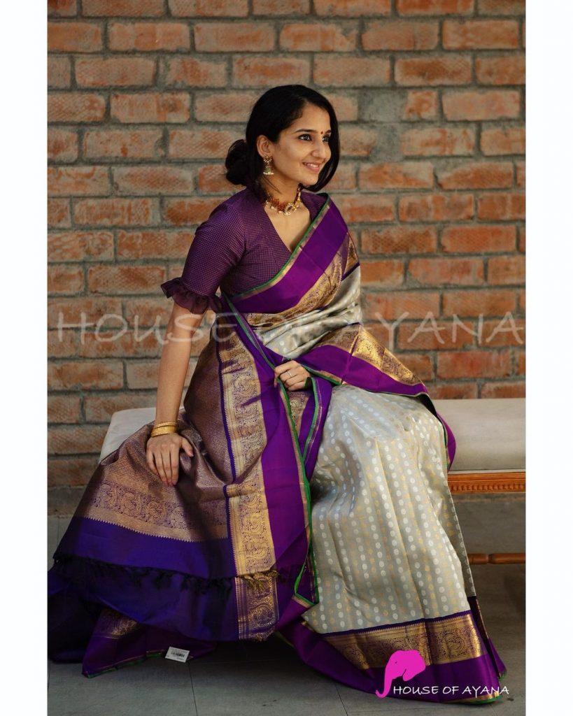 Silk saree brands