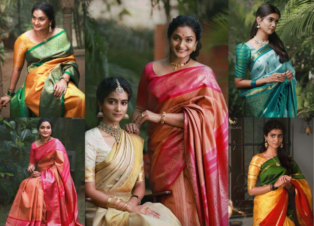 Luxurious Silk Sarees