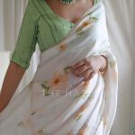 Hand-Painted And Printed Sarees