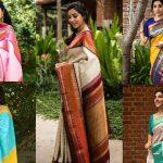 14 Off-Beat Silk Saree Color Combinations!