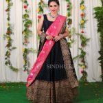 Pattu Half Saree Designs