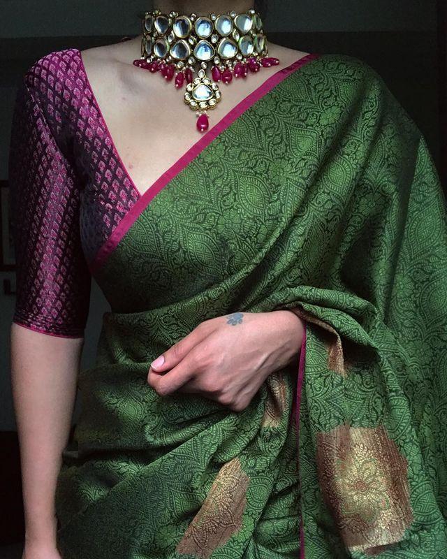 Sarees Styling Inspiration