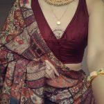 Chic Saree Blouse Styles