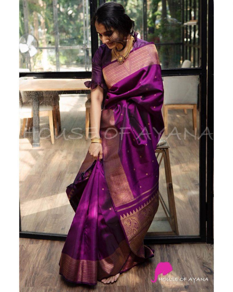 Stunning Silk Saree Designs
